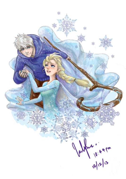 jack_frost_and_elsa_by_ladyrve-d6ymay0