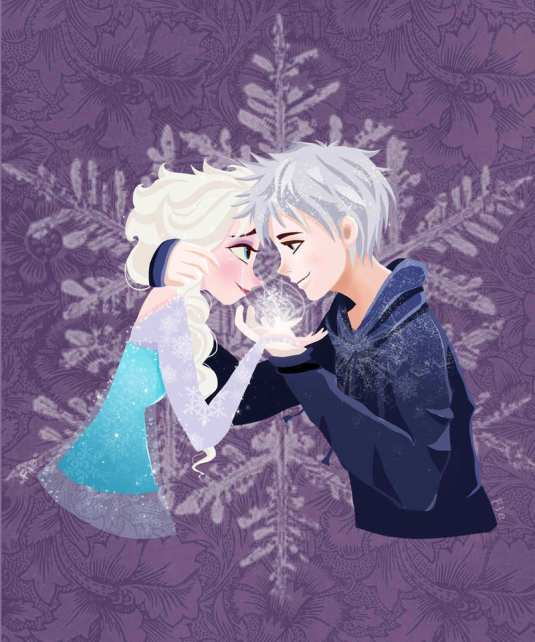 let_s_frost_the_world_together___elsa_and_jack__by_panda_neko_pyon-d6wogcw